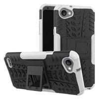 Wholesale Blue Laser Plastic - Hybrid Shockproof Kickstand Case For LG Stylus Q6 Plus Mini Asus Zenfone 2 Laser ZE500KL ZE550KL ZE601KL 3 ZE520KL ZE552KL Deluxe
