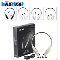 Wholesale Hook For Ear Silver - HBS900 wireless bluetooth headphone HBS 900 stereo sports headsets for iphone 5 6 samsung S5 S6 HTC without logo with nice package