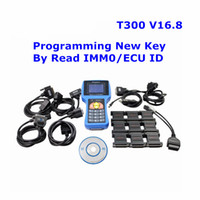 T-CODE T300 Programmatore chiave V16.8 Professional Universal Transponder Auto Decoder T 300 Car Key Prog con inglese o spagnolo