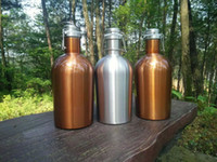 Wholesale bottle swing resale online - 28hr L Beer Growler Bottle Swing Hip Flask Stainless Steel Barrels Upscale Flagons Fine Creative Stoup Factory Direct Sales