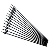 Wholesale arrows for recurve bow for sale - Group buy 12pcs Replaceable inch Spine Carbon Arrow for Compound Recurve Bow Hunting and Archery Shooting Target