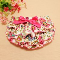 Everweekend Girls Bow Floral Ruffles PP Брюки Сладкие Дети Мода Летняя одежда Lovely Toddler Baby Pants