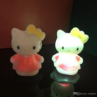 Hot Creative Cute LED Nightlight Lamp Projector Bateria Baby Child Sleeping Nightlight Color Changing Party Lights Christmas Novelty Toys