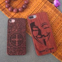 Wholesale Iphone Hard Case Price - New Style Low Price Cell Phone Case For Iphone 7 plus Wood Phone Cases Custom Wooden TPU Hard Cover For Apple 6 6s plus