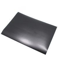 Wholesale Printer Printing Blank - Wholesale-20Pcs  Lot 21*29.7cm Event A4 Size Matte Black Colour PVC Self Adhesive Blank Sticker Label Printing Paper For Laser Printer