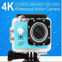 Wholesale V3 Camera - Waterproof sport camera 2.0 LCD Screen4K Action Camera F60 Allwinner V3 4K 30fps 1080P 60fps 720P 120fps WiFi 2.0inch 170D Waterproof Camera