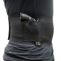 Wholesale Pistol Prices - Magaipu Belly band pistol holster gun concealed holster outdoor tactical adjustable waist gun holster best price