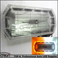 luz de advertencia del estroboscopio 24 al por mayor-56 LED 60 cm 56W Luz de advertencia ámbar / blanca barra Camión Camión Camión Estroboscópico Coche Peligro de tráfico Asesor de iluminación de emergencia 12 V / 24 V