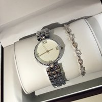 Wholesale Round Black Table - 2017 women brand watch Luxury beautiful Famous table japan movement new arrival Stainless steel wristwatches with diamond hot sale