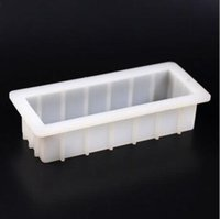 Wholesale Silicone Loaf Moulds - Rectangle Soap Cake Mold Mould Cuboid Bar Loaf Candle Mold Resin Mold 1000ml