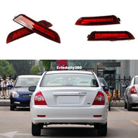 Wholesale Led Rear Bumper Reflectors - Car-styling For Hyundai Elantra 2011-2013 Car LED Rear Bumper Reflectors Light Brake Tail Parking Night Runing Lights