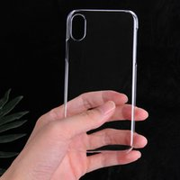 Wholesale Hard Plastic Pc Case Crystal - For iPhone 8 iPhone8 6s 7G plus Samsung S7 edge S8 Crystal Transparent Clear Hard Pc Phone Case Material Shell Back Cover