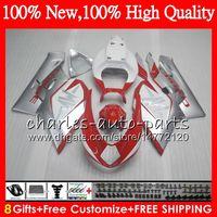 Wholesale Mv Agusta Fairings - Body For MV Agusta F4 05 06 R312 750S 1000 R 750 1000CC 1000R Bodywork HM.4 312 1078 1+1 MA MV F4 2005 2006 05 06 Fairing kit Red silvery
