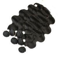 Wholesale vietnamese pure virgin hair for sale - Group buy 6 Bundles Body Wave Hair Weave Natural Brown Unprocessed Brazilian Peruvian Cambodian Malaysian Raw Virgin Indian Human Hair