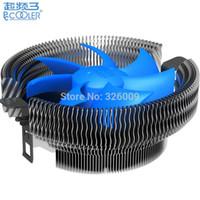 Wholesale amd processor am3 - Wholesale- 18dbA Silent 90mm fan, cooling for Intel LGA775 1150 1151 1155 1156, for AMD AM2 AM2+ AM3 FM1, CPU radiator, PcCooler Bird III