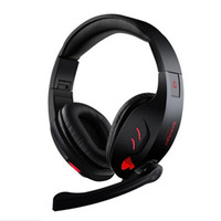 Wholesale Headband Glow - SY968 Surround USB Gamer Gaming Headphones Luminous With Microphone for iphone 6s for Computer Folding Headsets Glow Headphone