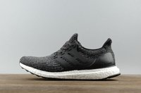Wholesale Lace Cut Out Paper - 2017 fashion Ultra Boost 3.0 Core Black real boost Men and women Casual Shoes with double box paper bags and receipts ultraboost ronnie fieg