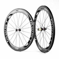Wholesale Bike Carbon Wheels Sale - Top sale !!! UD matt finish clincher 60mm voal road bike carbon wheels 23mm basalt surafce bicycle wheels ceramic bearing hubs free shipping