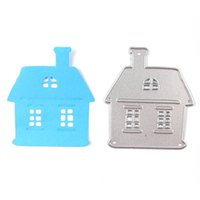 Chimney Cottage House Metal Cutting Dies Stencil para DIY Scrapbook Album Photo Paper Card Craft Embossing Metal Template Craft