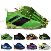 Wholesale Ground Body - 2017 Wholesale Discount Ace 16 Soccer Cleats Ace 16+ Purecontrol Firm Ground Cleats FG CG Men Football Soccer Shoes Top Quality