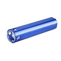 usb powered mini taschenlampe großhandel-Ultra leistungsstarke wiederaufladbare USB-LED-Taschenlampe Energienbank Blitzlicht taktische LED-Taschenlampe Laterne Taschenlampe Mini-Spaziergang Lampe