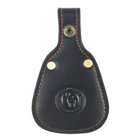 Wholesale clay pigeons resale online - Tourbon Toe Protector Barrel Rest Pad Gun Clay Pigeon Shooting Real Leather Hunt