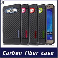 Wholesale Cheap Wholesale Galaxy Phone - For Samsung Galaxy J7 Prime J5 Prime J710 J510 J3 J2 J1 Ace Hot Cheap Carbon Fiber Soft Hybrid Armor Smart Phone Case