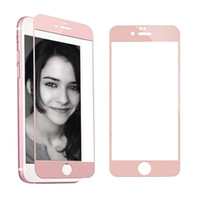 Wholesale Frosted Glass Screen - Frosted Matte Back and Front Full Screen Tempered Glass Protector for iPhone 7 6s 6 Plus Anti Fingerprint with Retail Package