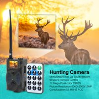 Wholesale Gsm Mms Remote Camera - HC300M 940NM Infrared Night Vision Hunting Camera 12M Digital Trail Camera Support Remote Control 2G MMS GPRS GSM for Hunting +4