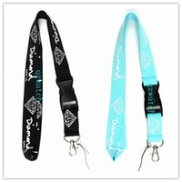 Wholesale Hot Badge - Hot!20Pcs 2Color Diamond Clothing Keychain LANYARD Neck cellphone Strap ID Badge Card Holder New Choose Design