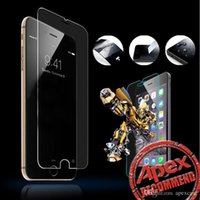 Wholesale quality 3d glasses - High Quality Premium Tempered Glass Screen Protector for iphone samsung sony Clear Screen Protectors Toughened Film