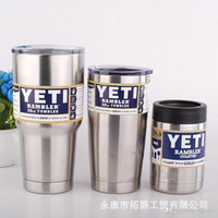 Wholesale Large Beer Glass Wholesale - Top Quality 30oz 20oz 12oz Stainless Tumbler Clear Lid Cups Coolers Cup 3 Styles Beer Glass Sports Mugs Large 304 Stainless Steel Mug