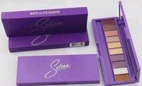Wholesale Eyeshadow Platte - hot selling new makeup selena matte 10colors eyeshadow platte dhl free shipping