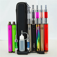 Wholesale Ce4 Dual Starter Kit - 100% Quality oil vape pen starter kits vision spinner 2 1650mAH variable voltage & Dual Coil Mini Protank 3 MT3 CE4 CE5 H2 vaporizer kit