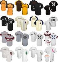 Wholesale Kids Fashion Male - 2017 Female Kids Male Chicago White Sox Custom Mother St. Patrick's day Fashion USMC Cool Flex Baseball Jerseys Grey White Black Beige Ivory