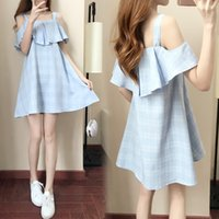 """Wholesale New Korean Women S Dresses - Women""""s Clothing Casual Summer Thin Camisole Casual Korean Sexy Cute Beautiful Trend New Style Dress"""