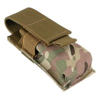 Plain black mens magazine - Molle Light Portable Tactical Open Top Mag Magazine Clip Pouch Mens Tactical Hunting Bag
