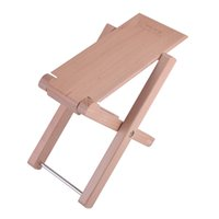 Wholesale Guitar Wood Pedal Guitar Foot Rest Professional Antiskid Folding Wood Footstool Pedal