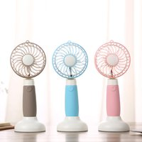 Wholesale 2017 Windmill Dual USB Fan Creative USB Charging Mini Handheld Dormitory Desktop Outdoor Portable Small Electric Fans