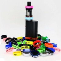 Wholesale Customize Rubber Bracelets - Decorative and protection vape band customized rubber vape rings Non-Slip Rubber Bands silicone bracelet cheap 22mm beauty ring e cig