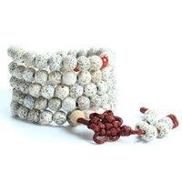 Wholesale Tibetan Buddhist Prayer Seeds - New arrival natural 108 xingyue bodhi seeds Tibetan Buddhist mala prayer beads bracelet necklace for Meditation