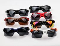 desgaste de bicicleta para mulher venda por atacado-2017 óculos de sol homens e mulheres com os mesmos óculos óculos de sol da bicicleta ao ar livre à prova de explosão esporte equitação olhos desgaste 9105