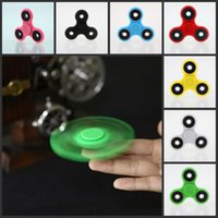 Wholesale tri spinner fidget toy for sale - Group buy 2017 EDC Fidget Spinner toy finger spinner toy Hand tri HandSpinner EDC Toy For Decompression Anxiety Toys