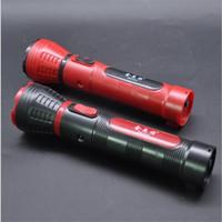 foco ajustable ultrafire linterna al por mayor-Portátil Mini USB recargable 350LM Linterna LED Viaje al aire libre Foco ajustable Luz fuerte Antorcha 3-modo con correa