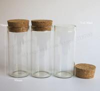 cam boncuk tüpleri toptan satış-200 adet / grup Mantar ile 30 ml Cam Tüp, 1 oz Mantar tıpa şişe, takı için gıda, çiçek, fasulye, boncuk, pırıltılar kullanmak