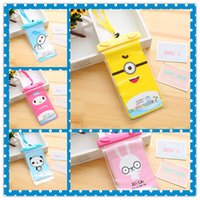Universal Cartoon Hello kitty Doraman Waterproof Case Cover Bag Water Proof Swimming Diving Bolsa subaquática para iphone Samsung Moto