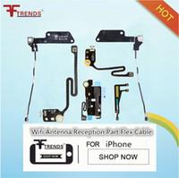 reparación de wifi de iphone al por mayor-para el iPhone 5 5S 5C 6 6 Plus 6s Plus 7 7 Plus WiFi Repuesto de Cable Flex Repuestos de Alta Calidad Envío Gratis