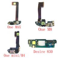 Wholesale Board Flex Pcb - NEW Original Charging Port Dock Connector Flex Cable PCB Board For HTC Desire 830 One MAX One mini M4 M8
