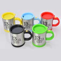 Wholesale Tea Coffe Cup Wholesale - Premium Leakproof Self Stirring Coffee Mug Electric Stainless Steel Automatic Travel Mug Auto Mixing Cup For Tea Coffee Hot Chocolate Coffe