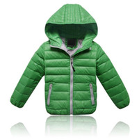Wholesale Children Warm Clothes - Children's Outerwear Boy and Girl Winter Warm Hooded Coat Children Clothes boy Down Jacket kid jackets 3-12 years